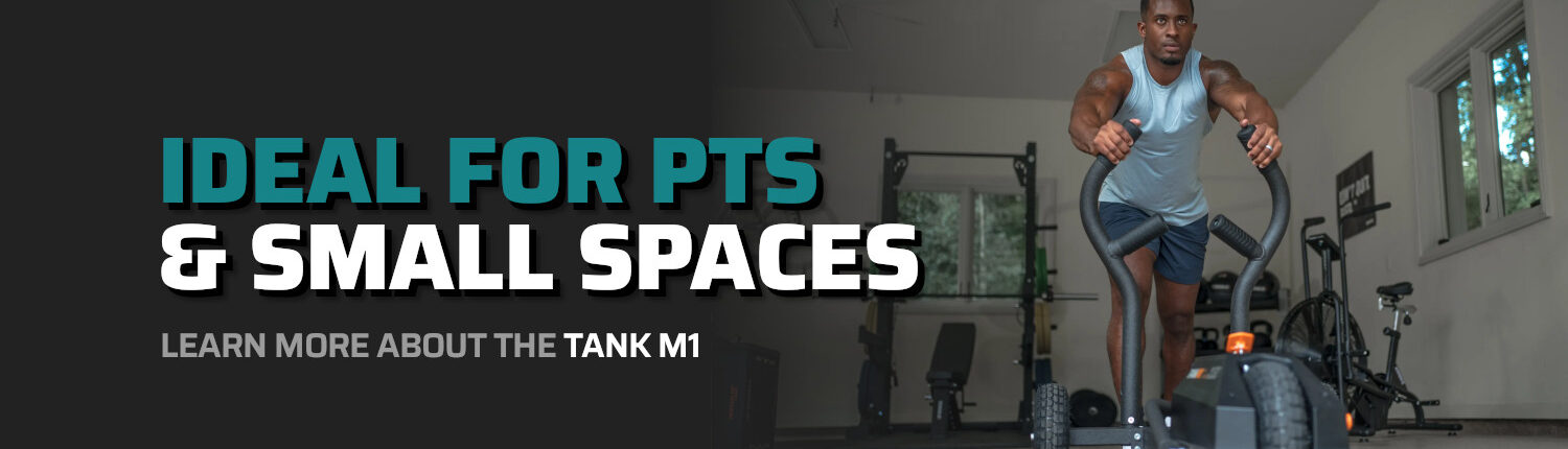 Ideal For PTs & Small Spaces - Learn More About The TANK M1